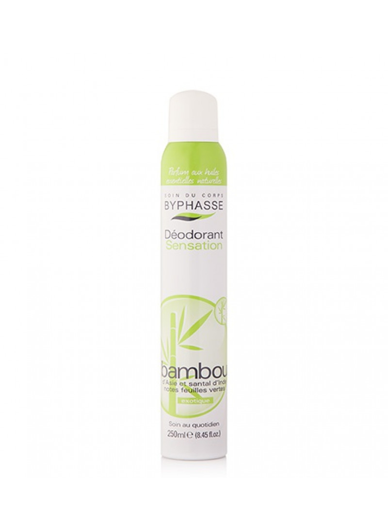BYPHASSE 24H DEODARANT EXTRACT DE BAMBOO 250ML