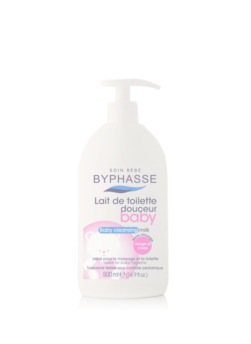 BYPHASSE BABY CLEANSING LOTION FACE&BODY 500ML