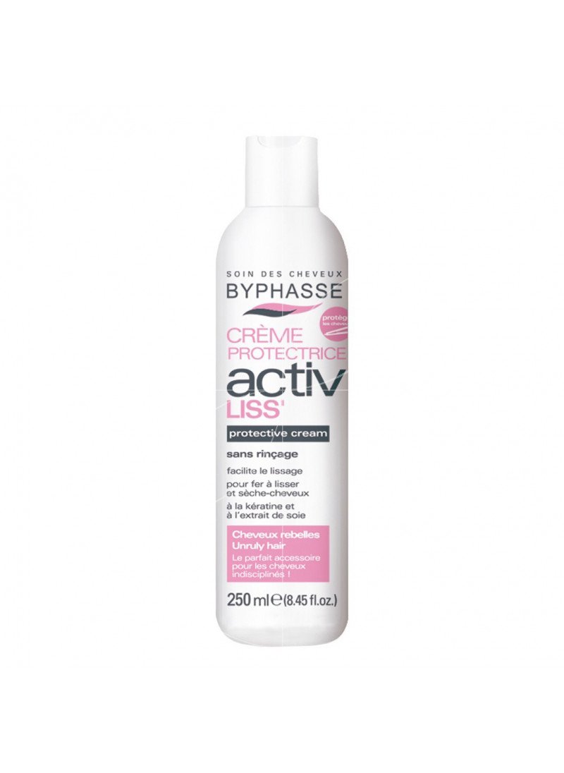 BYPHASSE ACTIV SMOOTH CREAM UNRULY HAIR 250ML