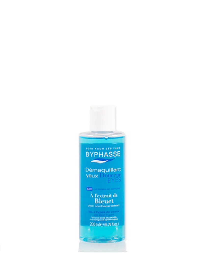 BYPHASSE EYE MAKE UP REMOVER CORNFLOWER EXTRACT 20...