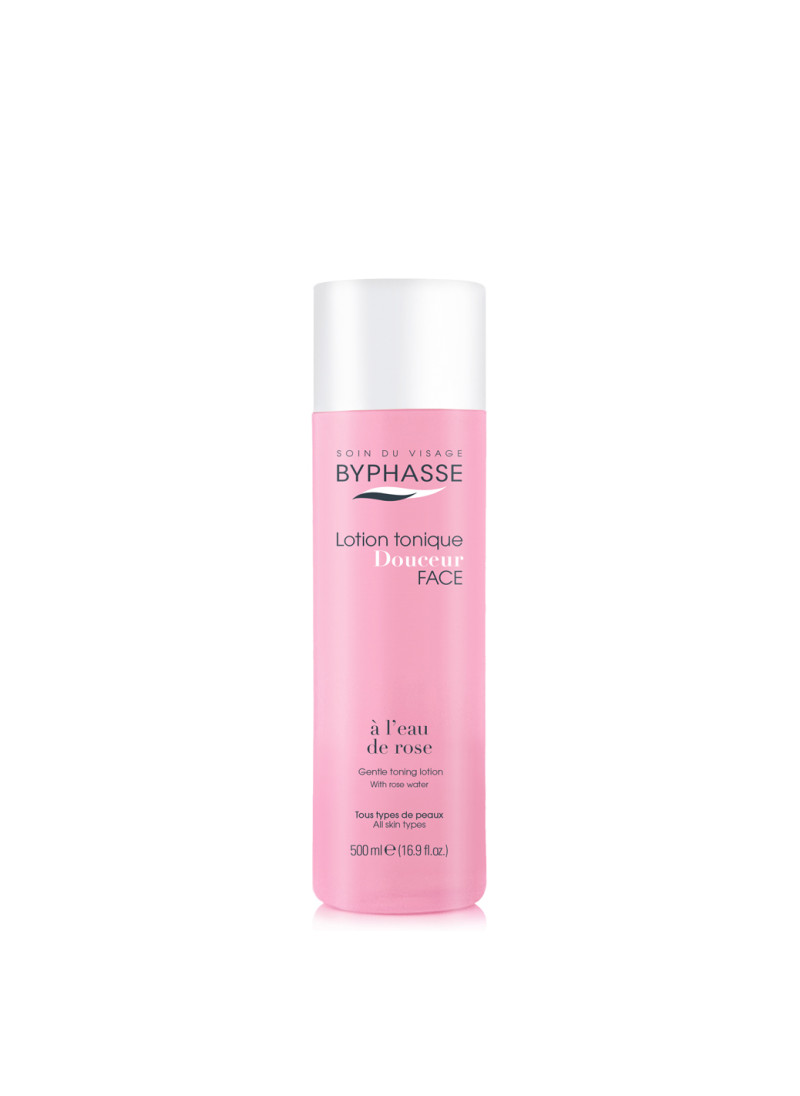 BYPHASSE GENTLE TONING LOTION WITH ROSE WATER ALL ...