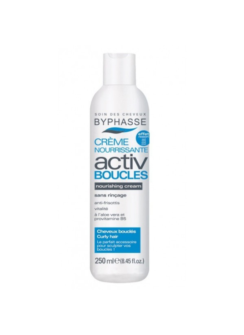 BYPHASSE ACTIV CURL CREAM CURLY HAIR 250ML