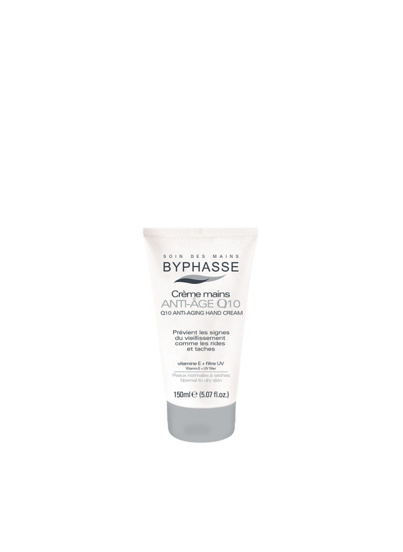 BYPHASSE Q10 ANTI AGING HAND CREAM 150ML