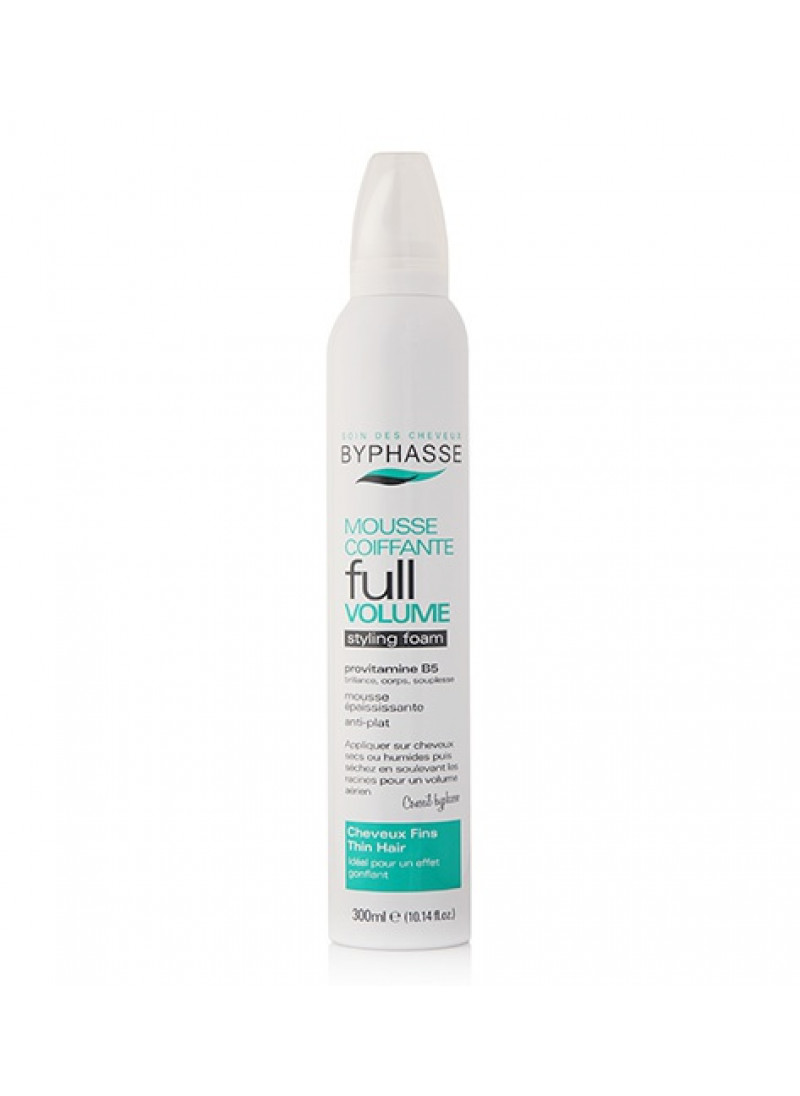 BYPHASSE STYLING FOAM FULL VOLUME THIN HAIR 300ML