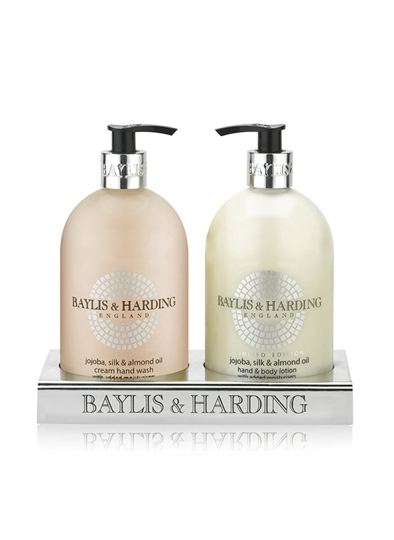 BAYLIS HARDING JOJOBA SILK ALMOND OIL DUO L SET