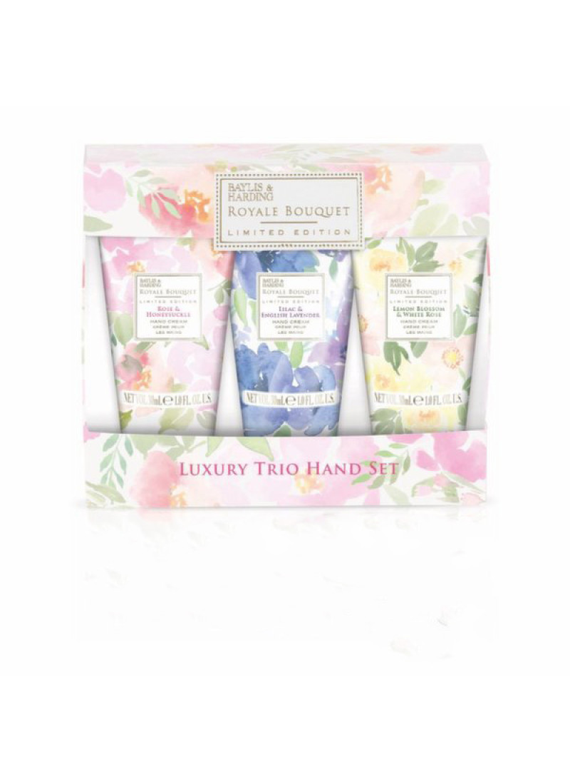 BAYLIS HARDING ROYALE BOUQUET TRIO L SET