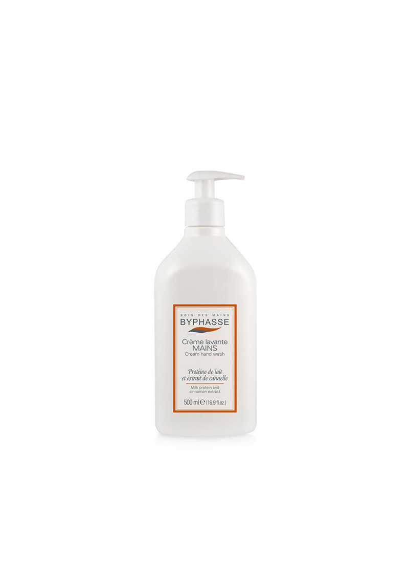 BYPHASSE LIQUID CREAM HAND WASH PROTEIN & CINN...