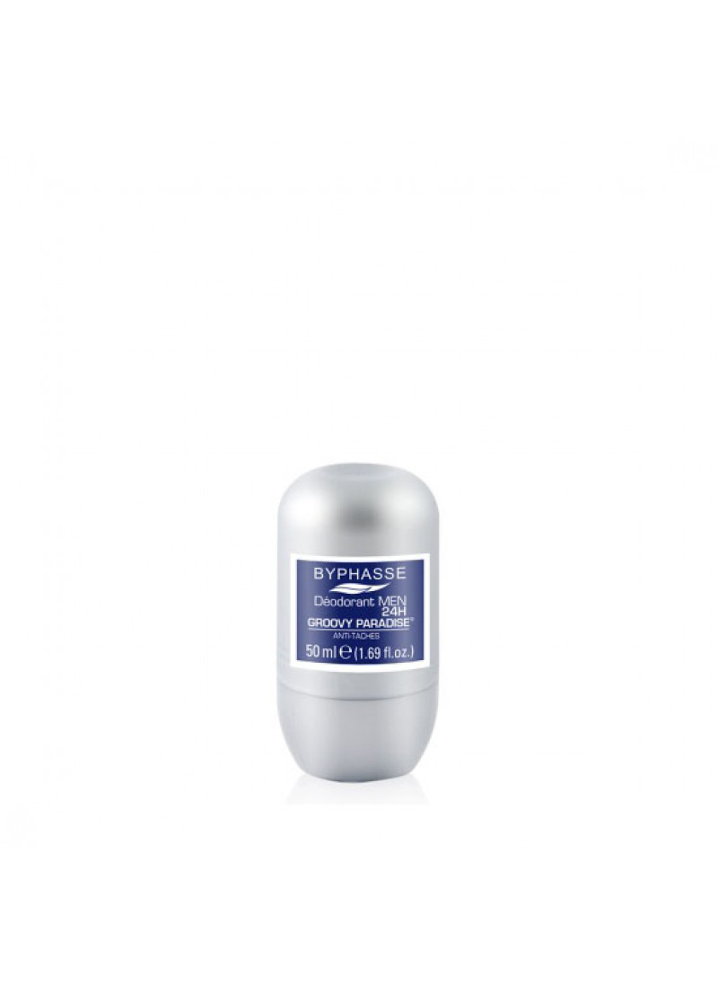 BYPHASSE MEN 24H DEODARANT GROOVY PARADISE 50ML (R...