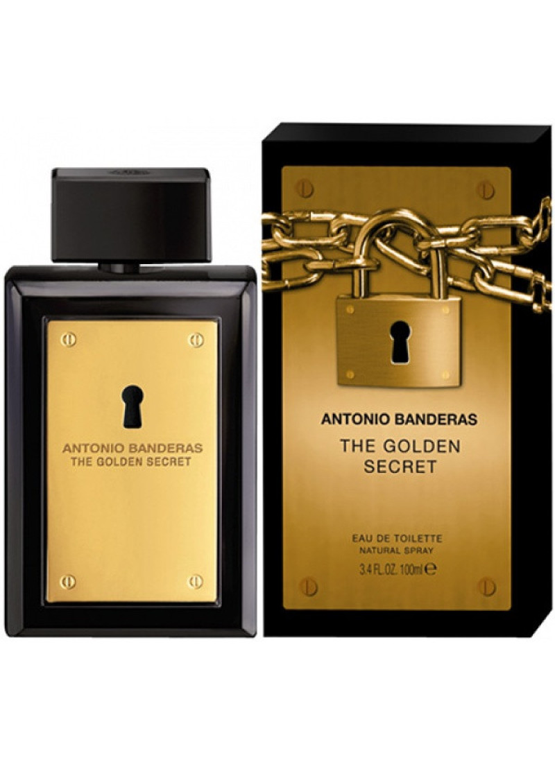 ANTONIO BANDERAS THE GOLDEN SECRET M EDT 100ML