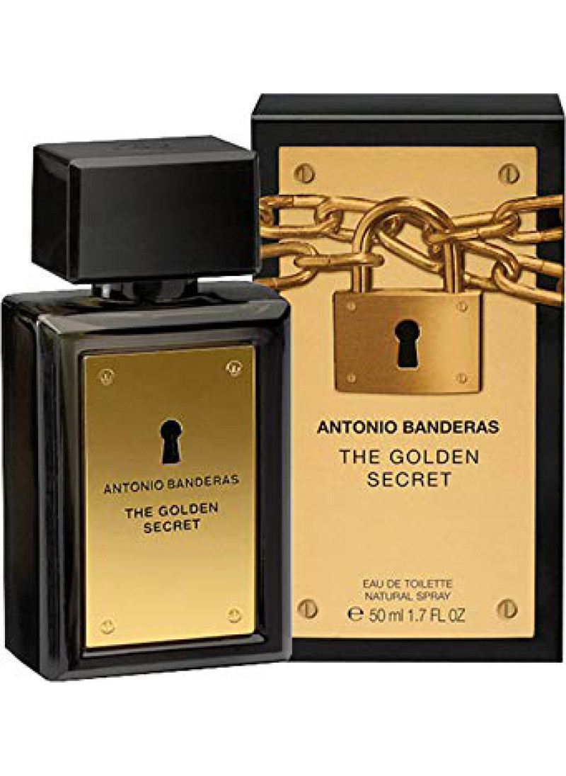 ANTONIO BANDERAS THE GOLDEN SECRET M EDT 50ML