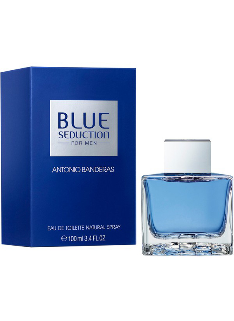 ANTONIO BANDERAS BLUE SEDUCTION M EDT 100ML
