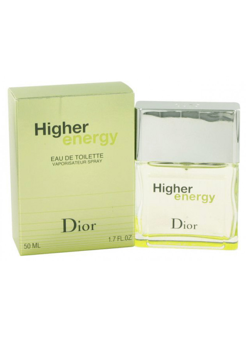 CHRISTIAN DIOR HIGHER ENERGY EAU DE TOILETTE 50ML