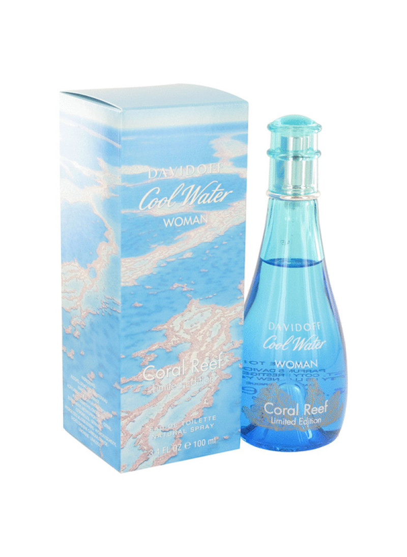 DAVIDOFF COOL WATER CORAL REEF L E EDT L 100ML