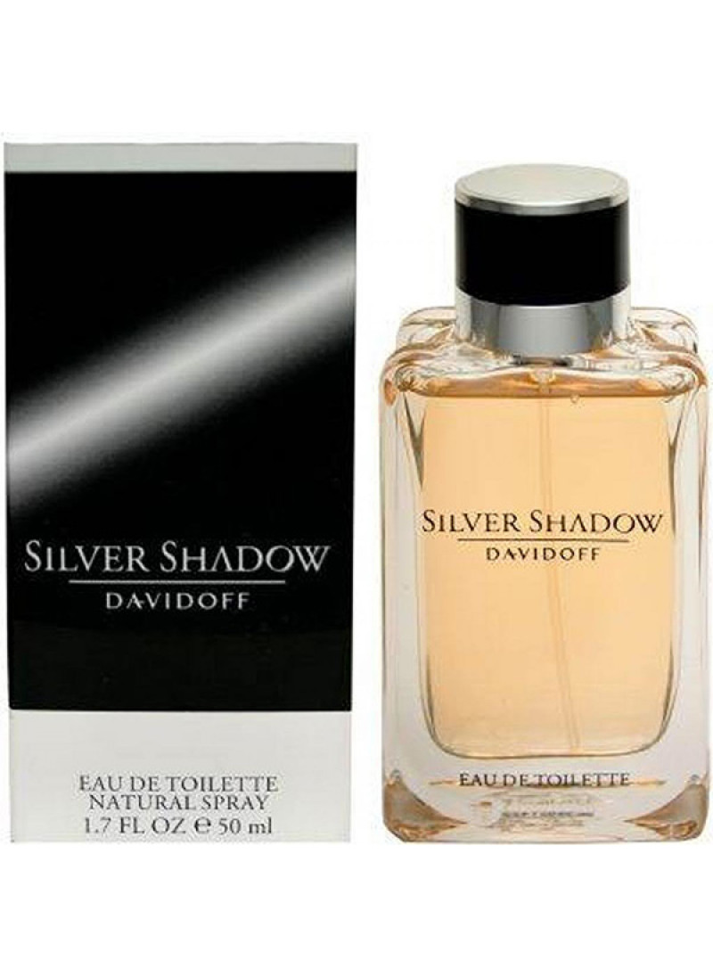 DAVIDOFF SILVER SHADOW EDT M 50ML