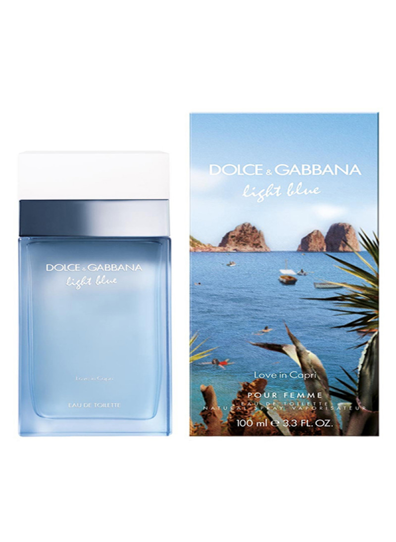 DOLCE GABBANA LB BEAUTY OF CAPRI EDT L 100ML