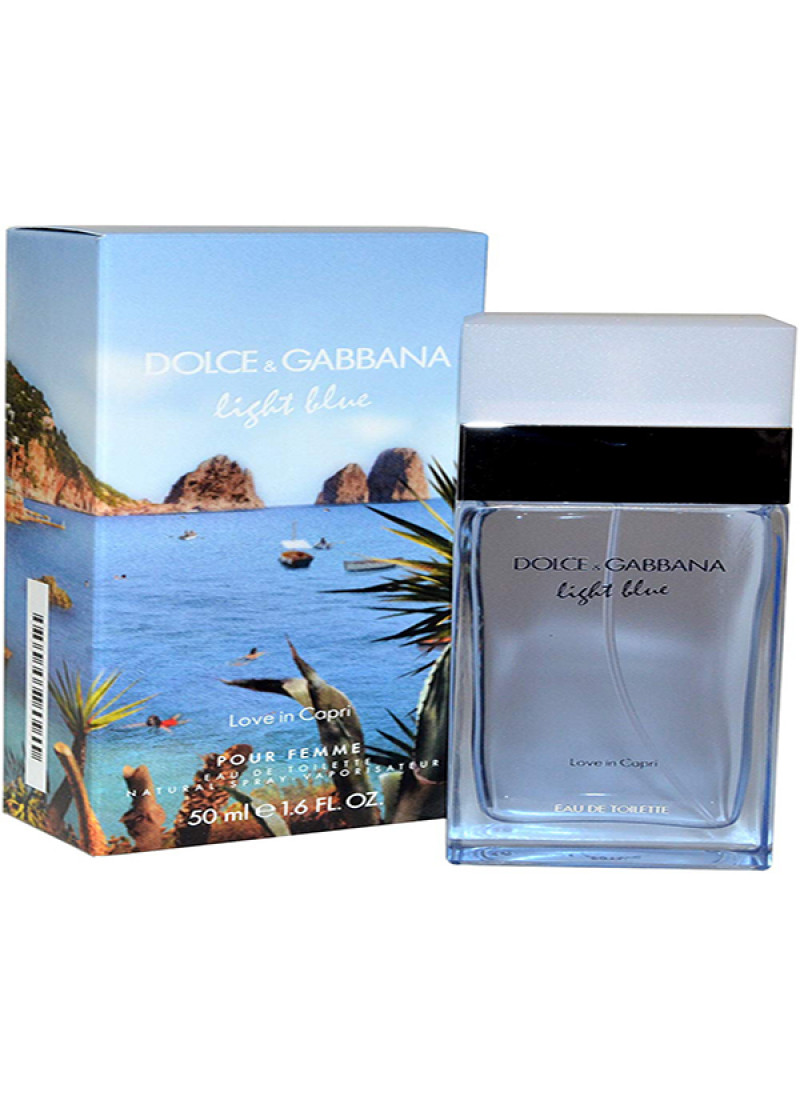 DOLCE GABBANA LB BEAUTY OF CAPRI EDT L 50ML