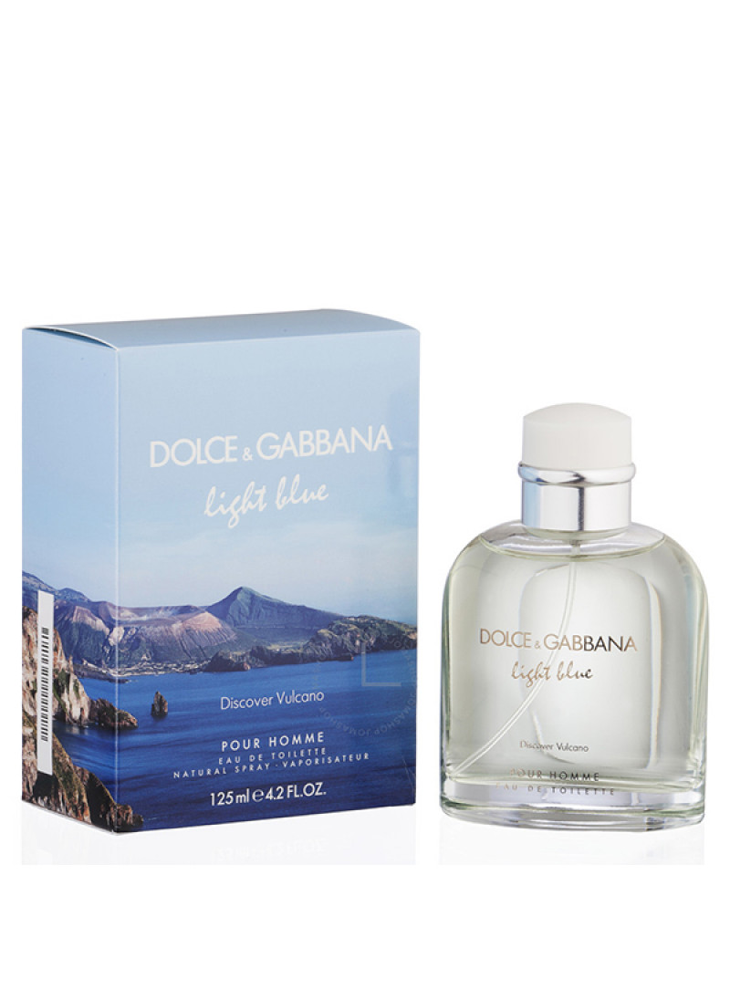 DOLCE GABBANA LIGHT BLUE DISCOVER VULCANO EDT M 12...