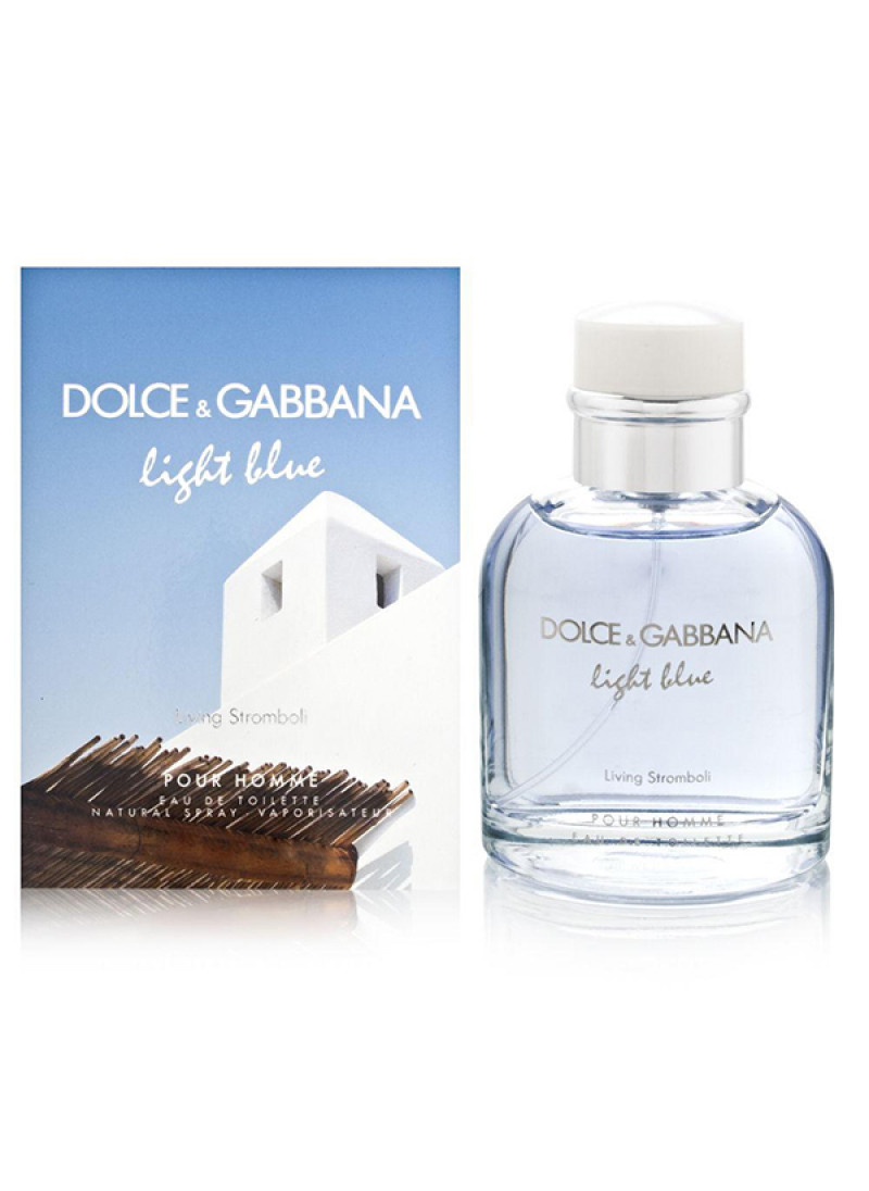 DOLCE GABBANA LIGHT BLUE LIVING STROMBOLI EDT M 40...