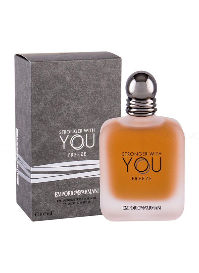 EMPORIO ARMANI STRONGER WITH YOU FREEZE M EDT 50ML