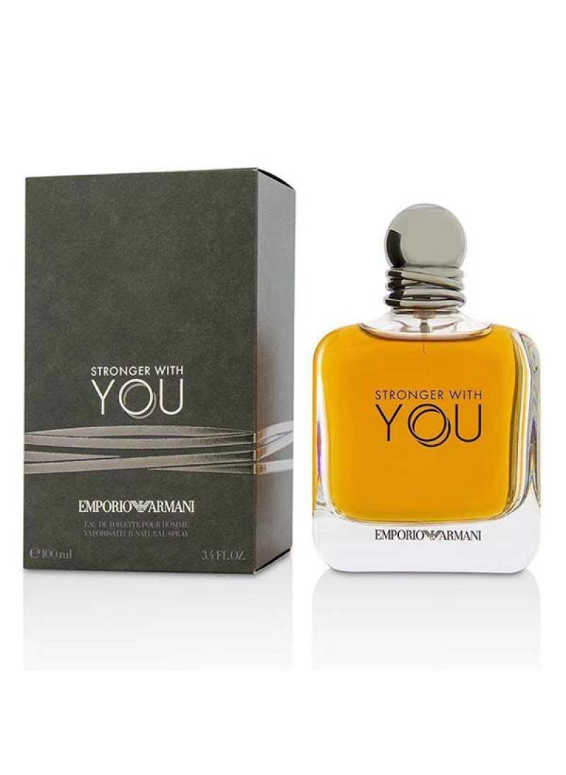 EMPORIO ARMANI STRONGER WITH YOU M EDT 100ML