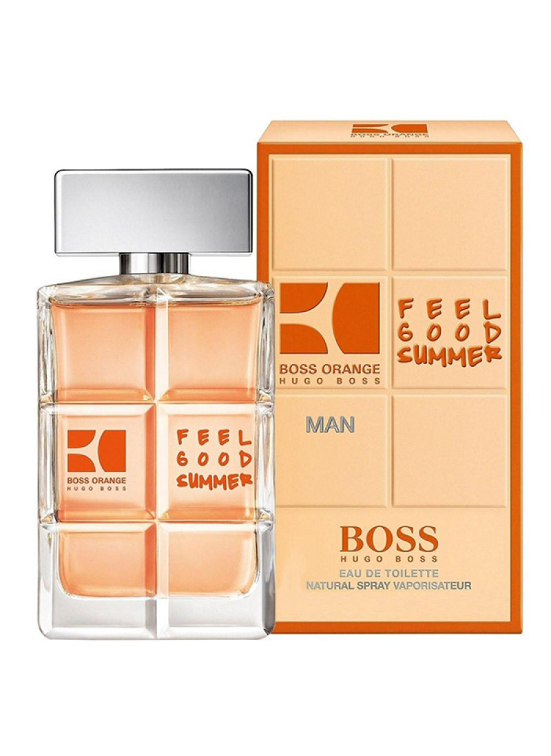 HUGO BOSS ORANGE FEEL GOOD SUMMER EDT M 40ML