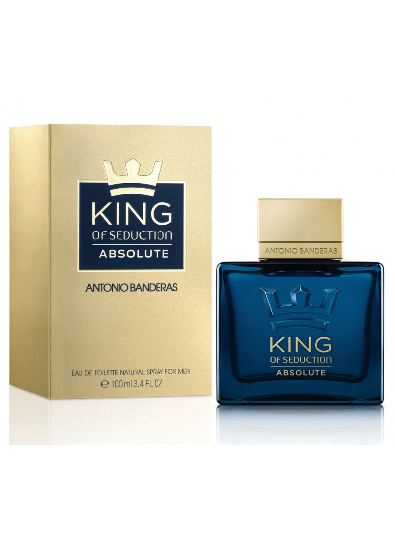 ANTONIO BANDERAS KING OF SEDUCTION ABSOLUTE EDT 10...