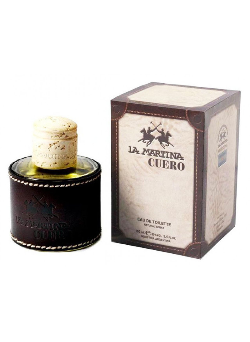LA MARTINA CUERO EDT M 100ML