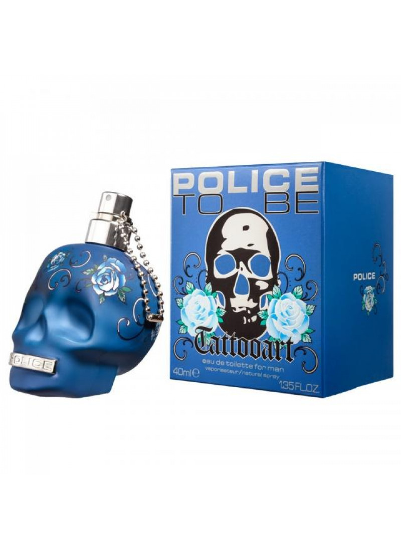 POLICE TATTOOART EDT M 40ML