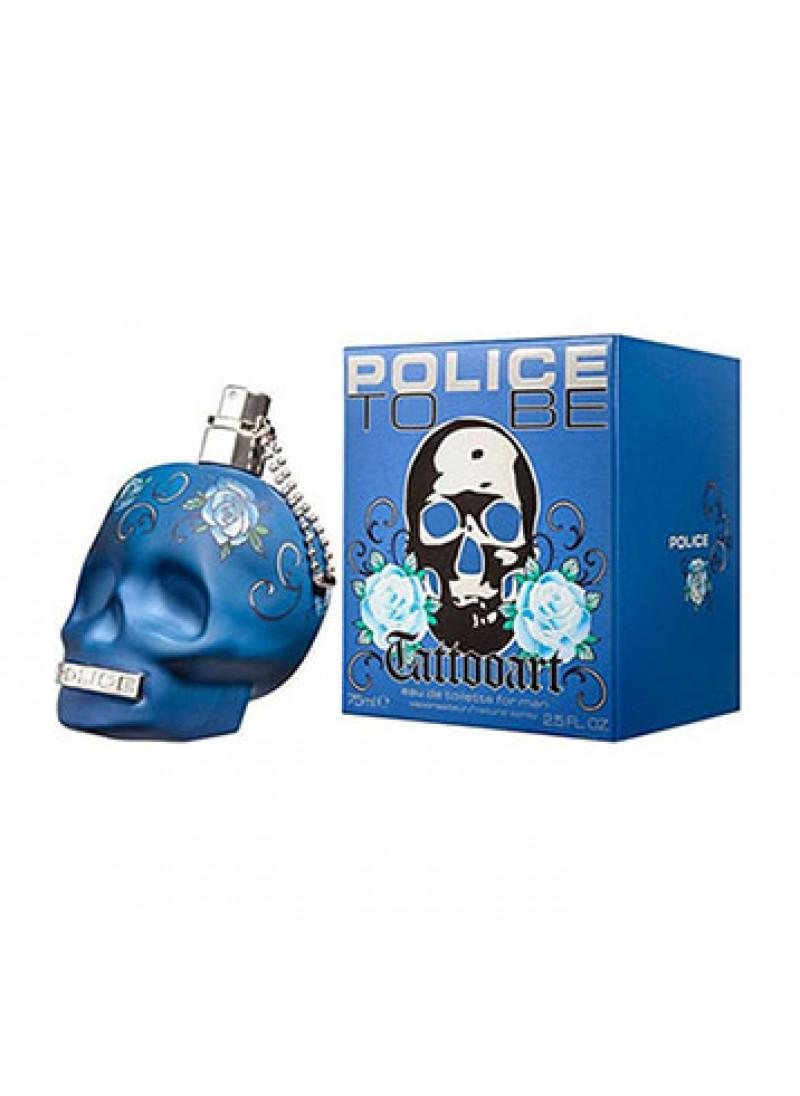 POLICE TATTOOART EDT M 75ML
