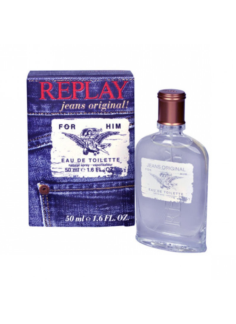 REPLAY FOR HIM EDT M 50ML