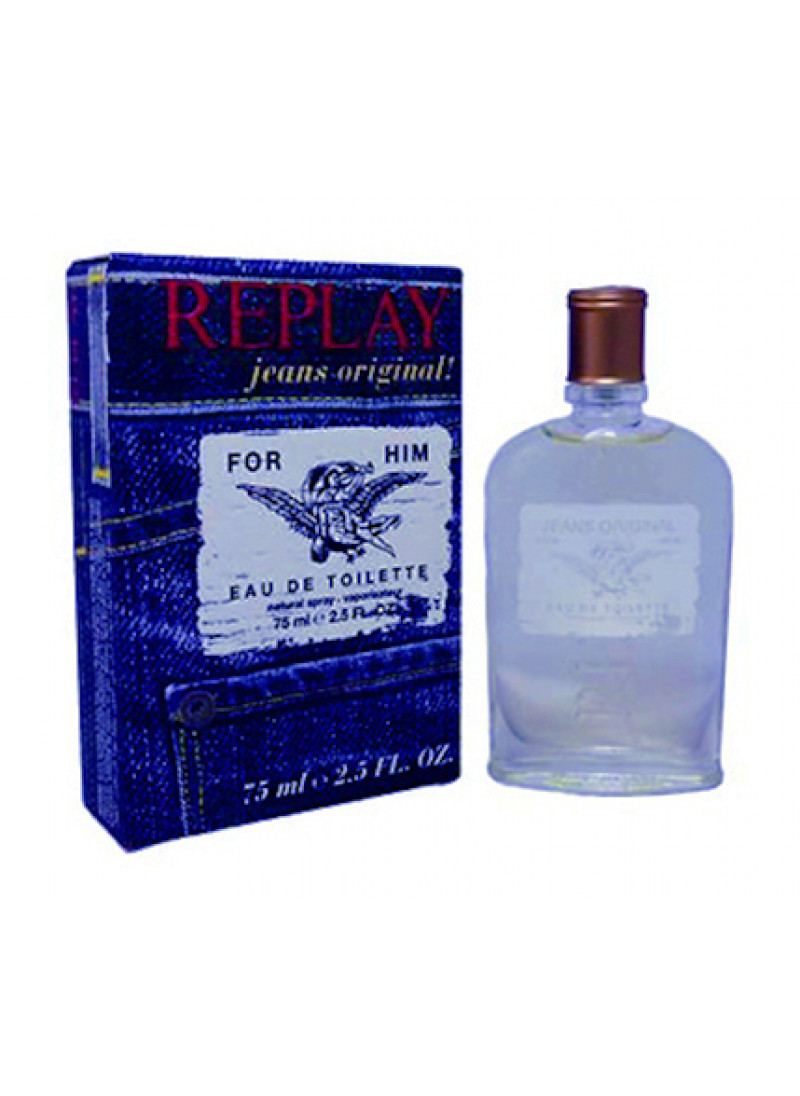 REPLAY JEANS ORIGINAL EDT 75ML