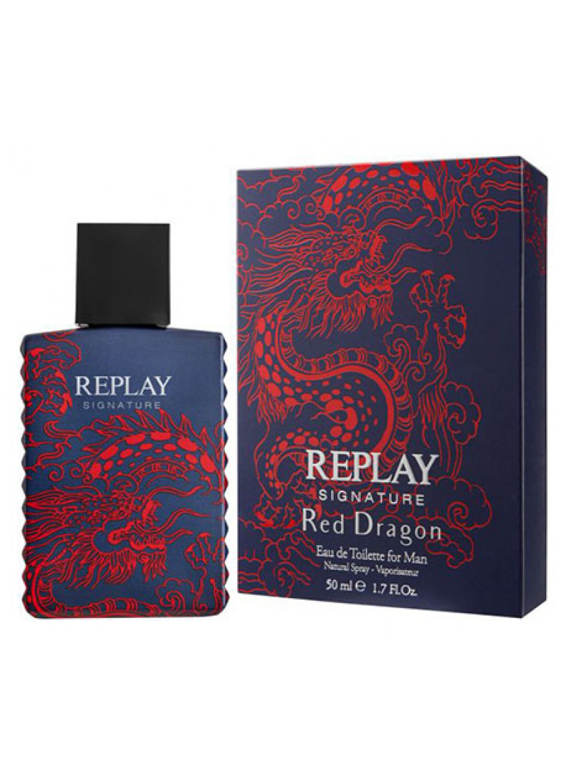 REPLAY SIGNATURE RED DRAGON EDT M 50ML
