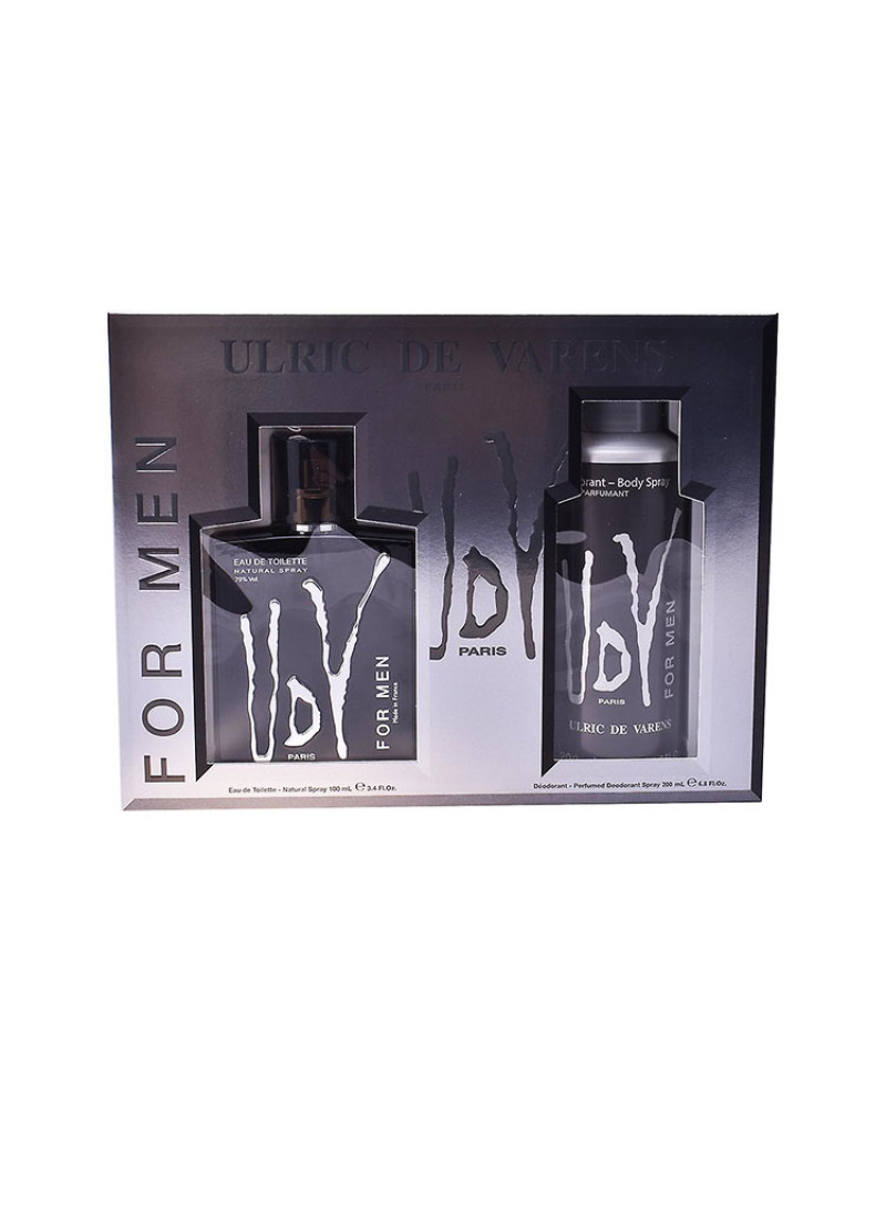 ULRIC DE VARENS UDV FOR MEN COFFRET EDT NS 100ML P...