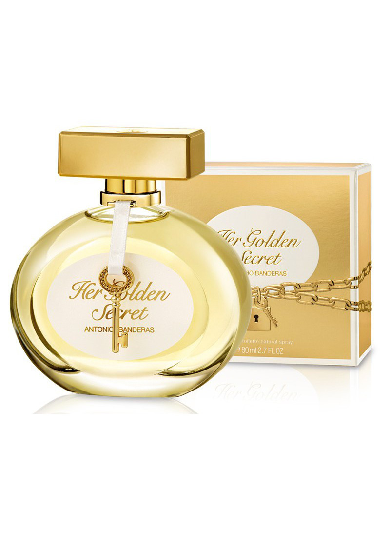 ANTONIO BANDERAS HER GOLDEN SECRET L EDT 80ML