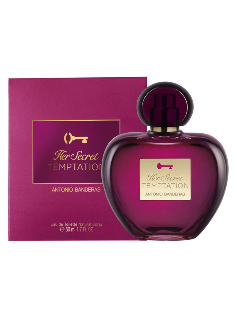 ANTONIO BANDERAS HER SECRET TEMPTATION EDT 50ML