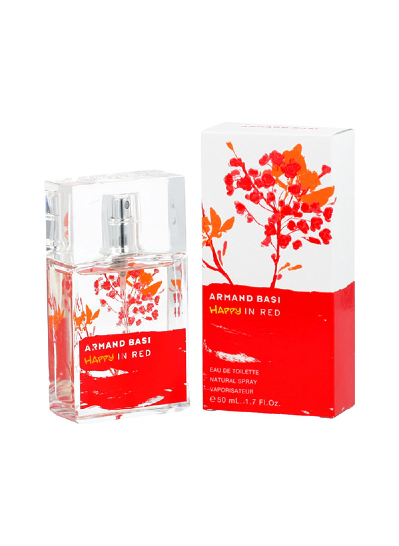 ARMAND BASI HAPPY IN RED EDT L 50ML