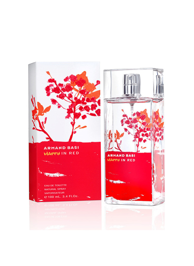 ARMAND BASI HAPPY IN RED EDT L 100ML