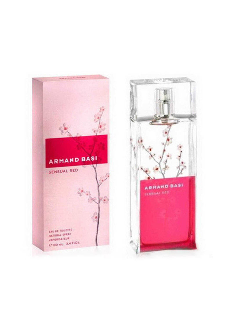 ARMAND BASI IN RED SENSUAL EDT L 100ML
