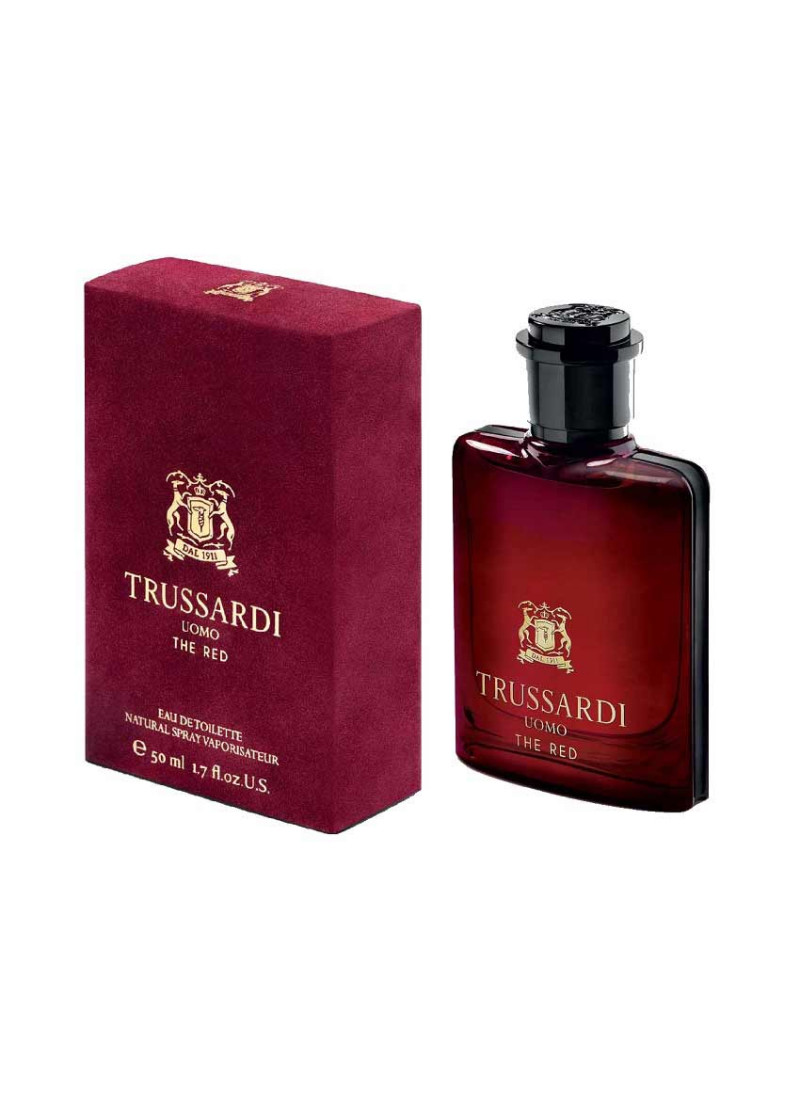 TRUSSARDI UOMO THE RED M EDT 50ML