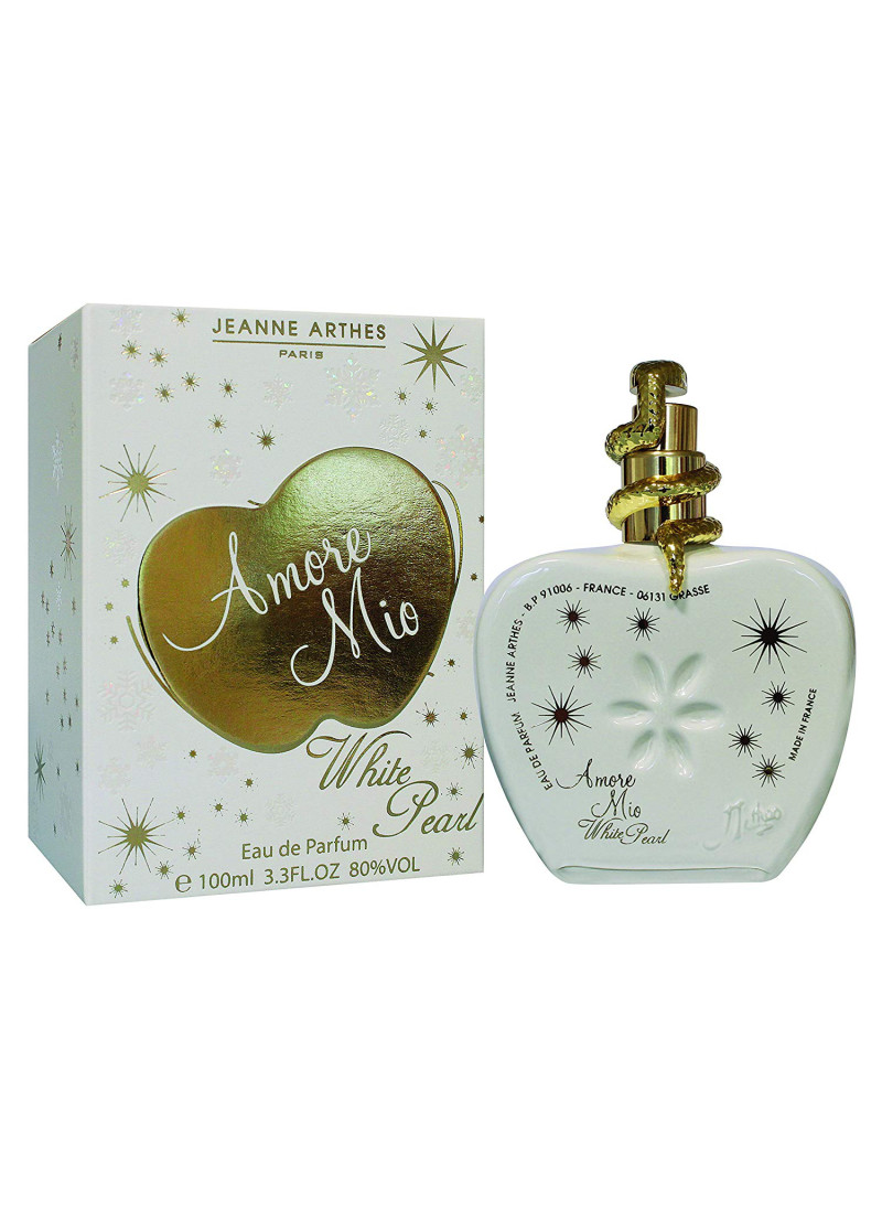JEANNE ARTHES AMORE MIO WHITE PEARL EDP 100ML